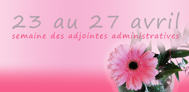 semaine des adjointes administrative